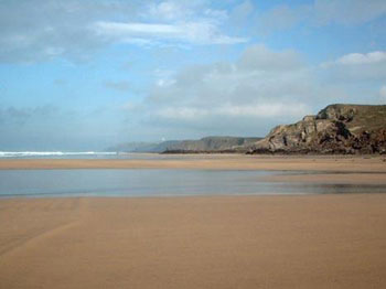 Surf report for Bude beach, Newquay, Cornwall