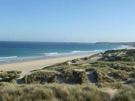 Surf report for Gwithian beach, Newquay, Cornwall
